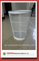 Metal wire mesh garbage container/cage