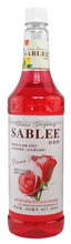 SABLEE Daina rose flavoured syrup for drink beverage application 900ml