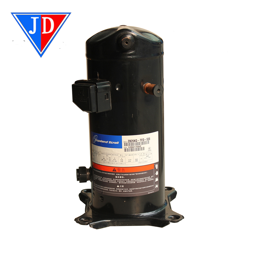12HP 380V Rotary Compressor ZR 144 KCE -TFD-522 for Refrigeration