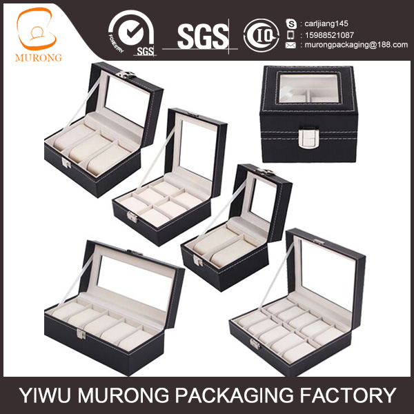 china supplier cheap and nice wood watch boxes