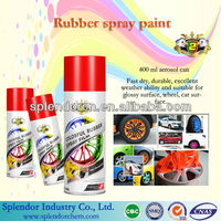 RUBBER AEROSOL SPRAY PAINT