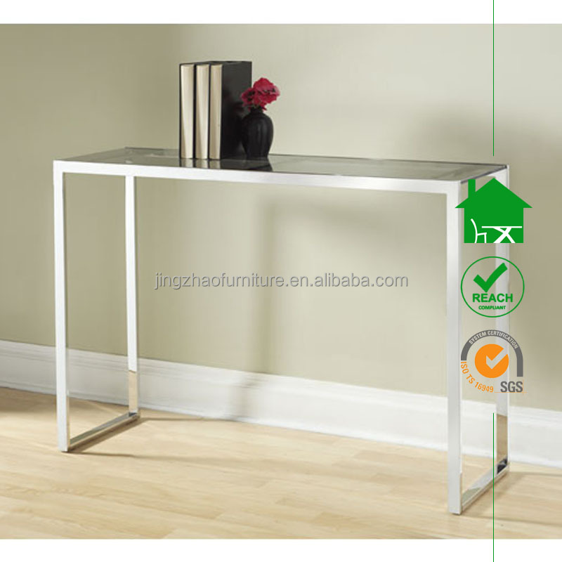 dt2110 simple design cheap console table with tempered glass top buy glass console tablecheap console tablesimple design console table product on - Cheap Console Tables