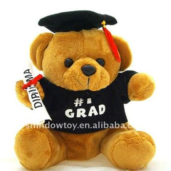 Lovely Bear with cute hat /kitchen hat/Doctorial hat