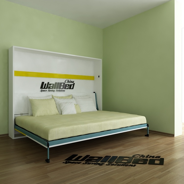 Queen size cama de la pared cama plegable mecanismo-Camas ... - photo#22