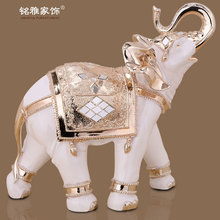 fengshui products wonderful quality factory custom made polyresin elephant figurine