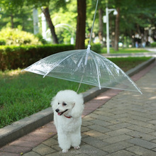 "Fashion chic pet umbrella dog umbrella with leash, fits 20"" pet's back length"