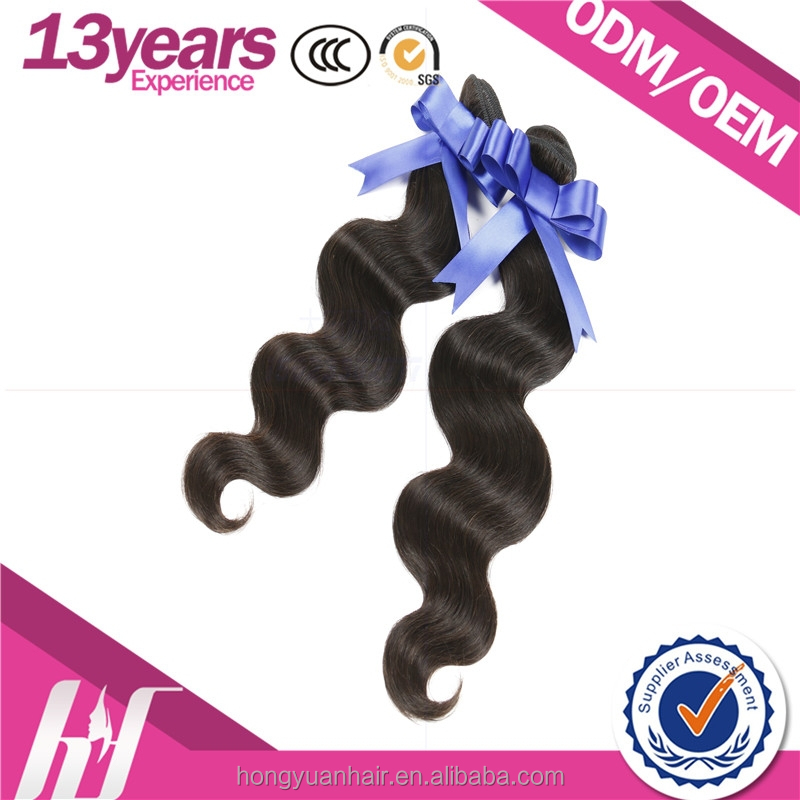 8A grade 100% unprocessed natural color loose wave wholesale virgin brazilian hair weave