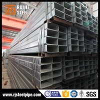 supply thin wall galvanized steel pipe,square steel tube/hollow section/pipe