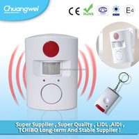 Wireless Remote controlled mini alarm system/ door alarm for protection