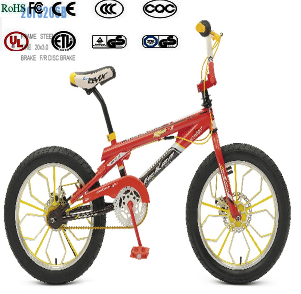 2016 China CR-MO steel 20 cheapest bmx bikes,Fashion Newest 20 mini bmx bicycle,bmx
