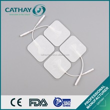 Factory directly certificated medical tens electrode pads for massage