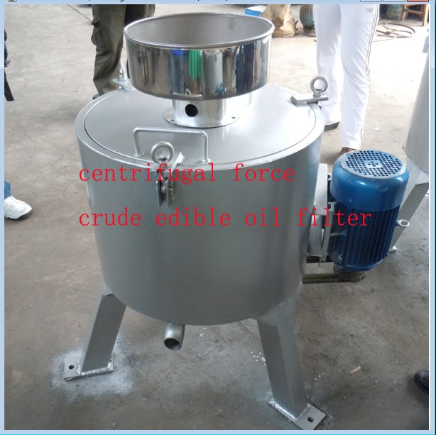centrifugal crude cooking oil filter