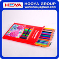 custom wholesale cheap plastic color pencil set