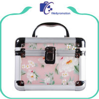 Wellpromotion promotional cheap makeup train case