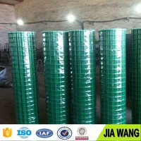 "Anping hot sale 1/2"" square PVC Coated Welded Wire Mesh"