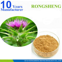 Top quality organic milk thistle seed p.e.