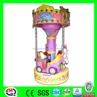 amusement park rides coin operated game machine carousel horse