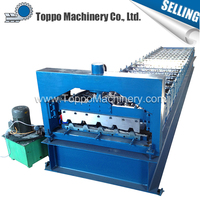 Steel Wall IBR Aluminum Plate Roll Forming Machine