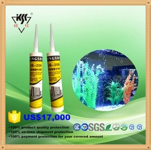 Colored silicone sealant for standard large plate glass, fish tank