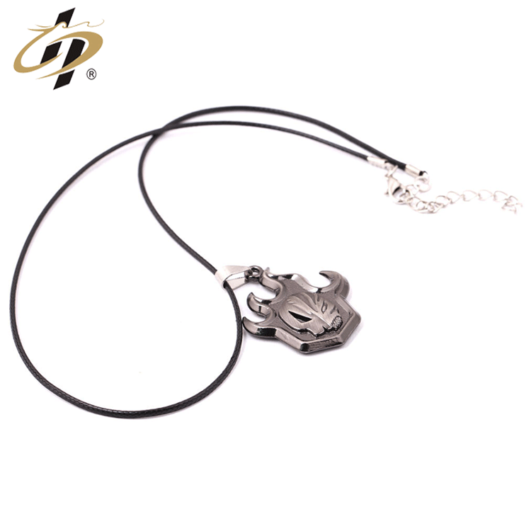 Factory outlets cheap custom 3d Black nickel plating  metal ancient gold dog tag with necklace
