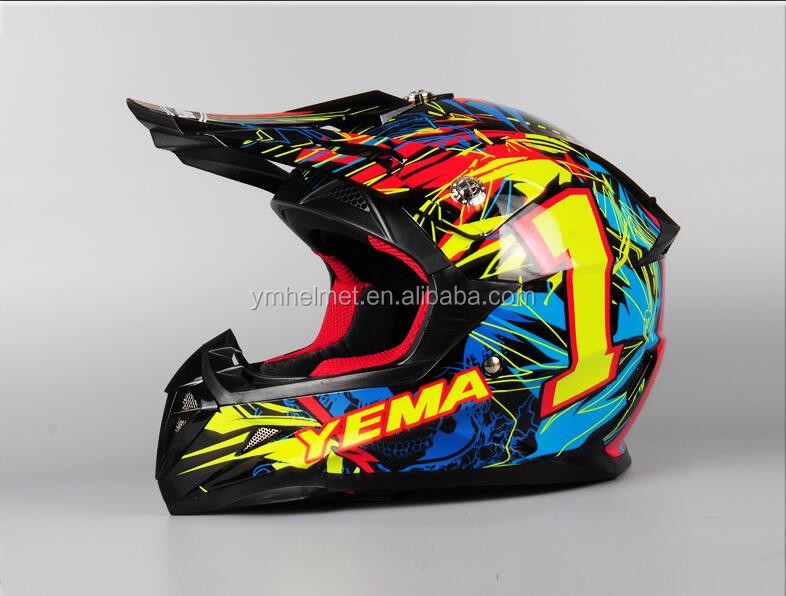 DOT,ECE off road motorcylce helmet cross helmet for kids 211