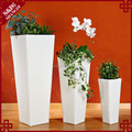 Wholesales PP plastic white planter pot for flowers and plants