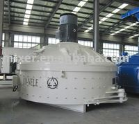 Concrete mixer with bucket