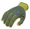 wholesale high quality cut resistant safety Gloves with PVC dots
