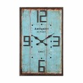 High quality home office decorative wood art painting wall clock