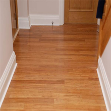 High Quality Distressed Click Lock Carbonized Bamboo Flooring