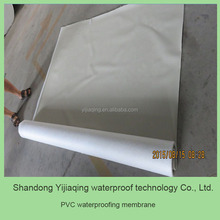 Convenient construction PVC waterproofing material in roll