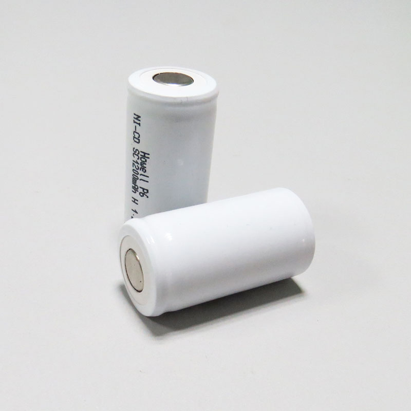 Shenzhen Howell high temperature 1300mah Nicd sc 1.2v battery