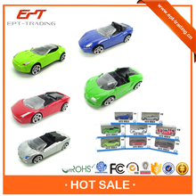Auto world free wheel metal roadster car toys for selling