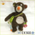 Promotional Velour plush stuffed Personalized baby bear with school bag