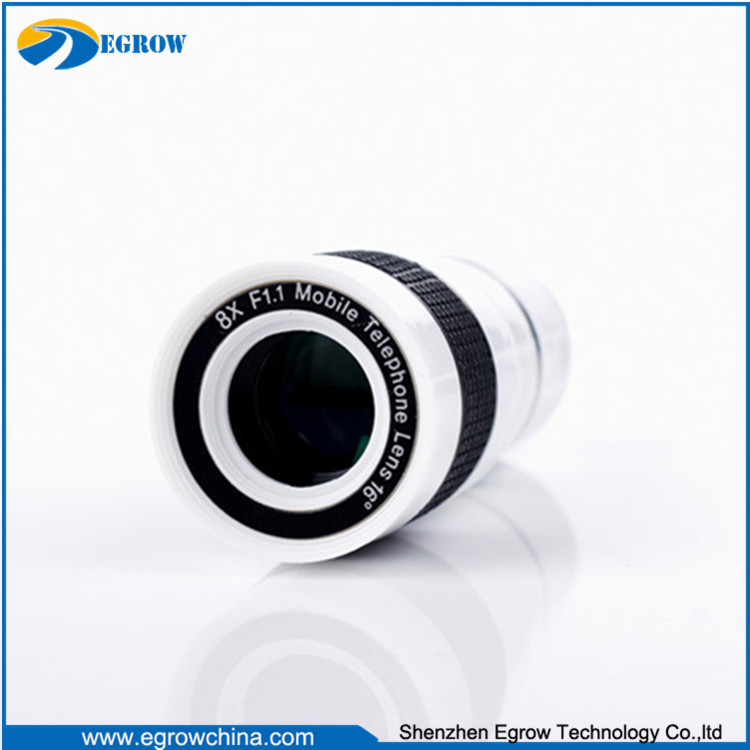 good quality high glasses telescope camera lens for mobile phone
