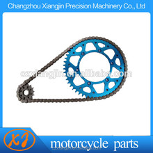 High Quality alloy 7075 T6 motorcycle transmissions sprocket dirt pit bike