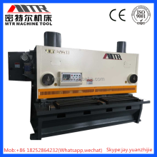 QC11Y Hydraulic guillotine cutter/manual guillotine metal shearing machine