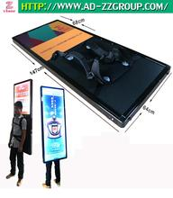 2017 New Advertising Product--Outdoor Backpack iWalker Digital Billboard