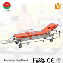 patient transport and emergency care ambulance stretcher