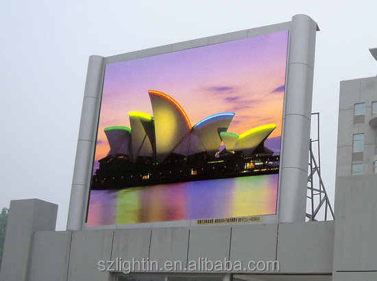 human billboard advertising led display 3D led outdoor tv billboard