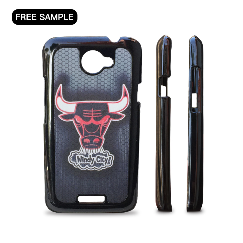 free sample phone case for HTC One X 2D sublimation Original Brand Export Quality Customization phone case with L/C