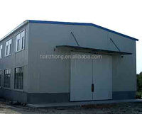 Good quality low cost prefab steel structure depository house