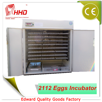 HHD 2000 hot selling egg incubator EW-16 2112 egg hatching machine