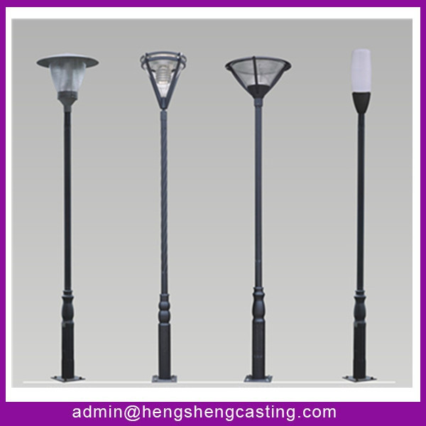 Standard Parking Lot Light Pole Height: Parking Lot Light Pole / Street Lighting Pole Used In
