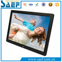 17.3 Inch LCD Signage media player picture Digital Photo Frame