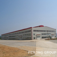 Pre engineered steel building structure made in china
