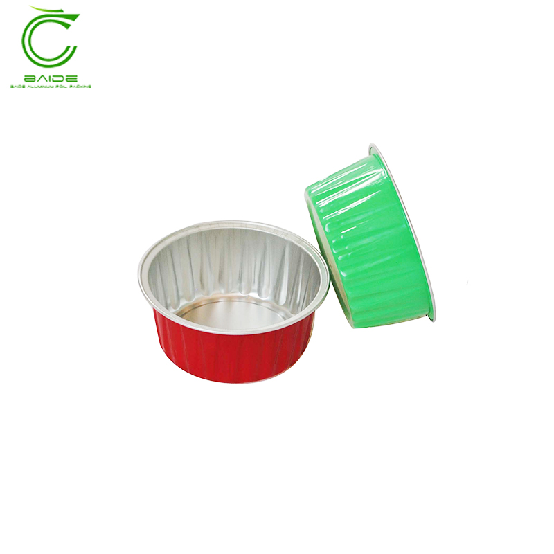 Waterproof disposable cake oven safe biodegradable food container