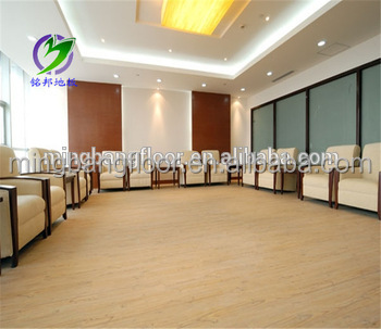 Hotal use pvc floor skirting boards in rolls