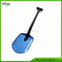 Multi-function snow shovel, Aluminum Car snow shovel, aluminum blade with PP handle