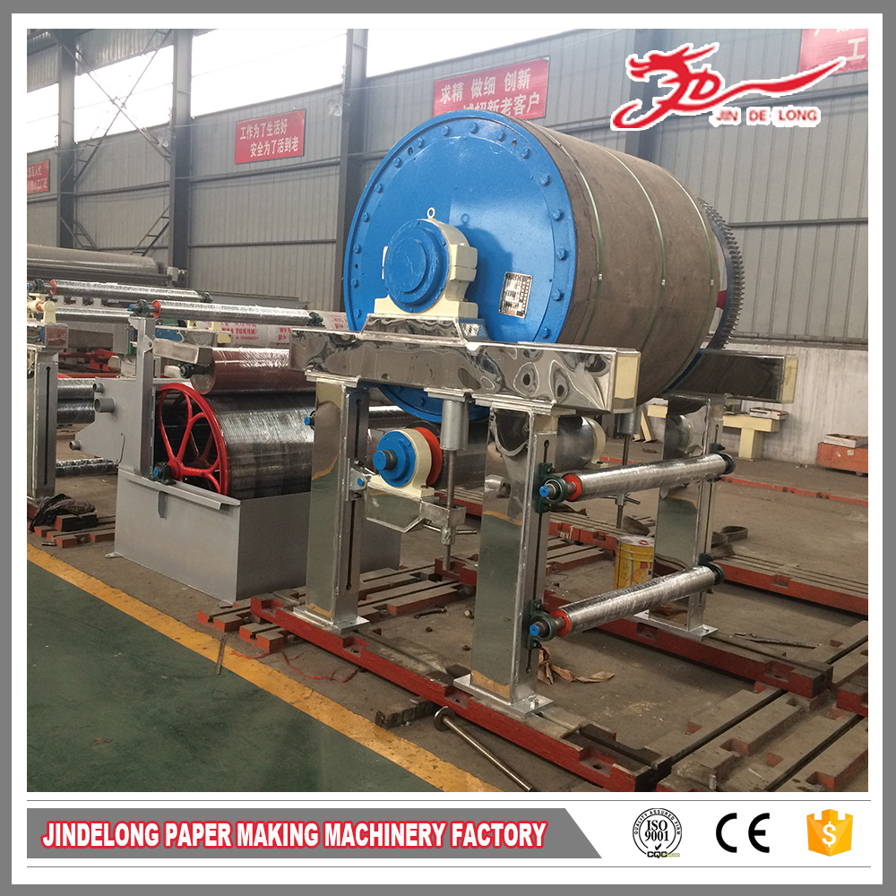 Bagasse paper making machine/hemp toilet tissue paper making machine for sale